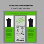 Boutique éphémère par Origeen.fr