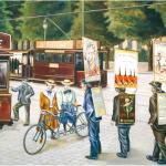 La fresque des transports de Lyon