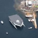 Sur la Saône, on navigue électriquement solaire !