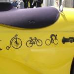 Le vélo de Calimero