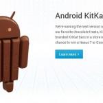 Google offre 4 barres KitKat à Android !
