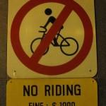 Amis cyclistes, ce petit instantané peut vous servir