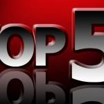 Top 5 des billets de l'année 2013