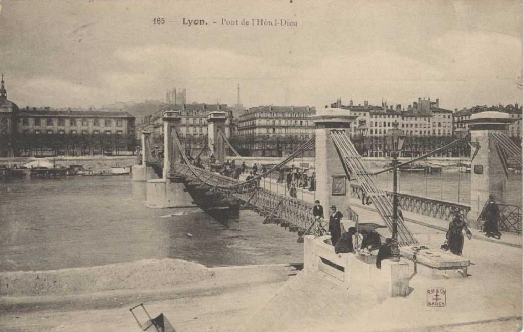 pont de l'hotel dieu